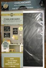 Chalkboard Wall Stickers & Chalk.