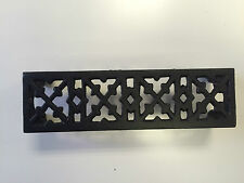 Cast Iron Air Brick Cross Victorian Design Vent Authentic