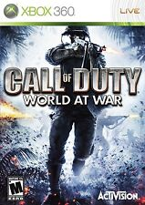 Call of Duty: World at War juego de Xbox 360 y Xbox One disco PAL
