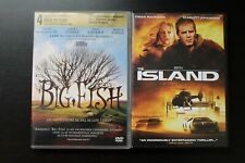 Ewan McGregor 2 Dvd Lot Big Fish, The Island
