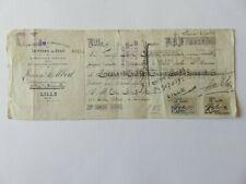 214 - Billet à ordre 1914/15 - Lille - C.L. - Londres - Reich-Militar-Fiskus