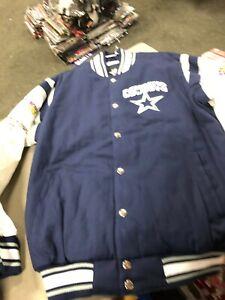 Dallas Cowboys Champions Elite Varsity Jacket Cotton/Polyester
