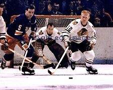 Glenn Hall 1957-67  Chicago  Blackhawks  HOF'er 1975  Color  8x10 B