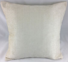 Light Cream Herringbone Design Evans Lichfield Cushion Cover