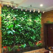 Artificial Plants Wall Greenery Fence Covering Indoor & Outdoor Turf Panel B