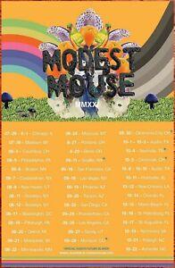 MODEST MOUSE Golden Casket 2021 Tour Ltd Ed New RARE Poster! FUTURE ISLANDS