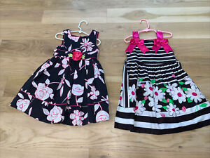 Lot of Girls size 4/4T Summer Dresses Jenny & Me And Bonnie Jean Great Condition