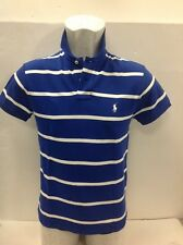 Ralph Lauren Polo Blue and White Hoop UKS