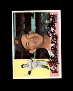 Eddie Fisher Hand Signed 1960 Topps San Francisco Giants Autograph