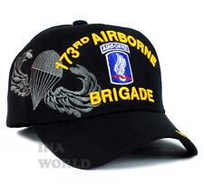 U.S. ARMY hat 173rd AIRBORNE Brigade  Military Licensed Baseball cap- Black