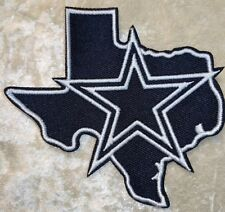 "Dallas Cowboys  3.5"" State Iron On Embroidered Patch ~USA Seller~FREE Ship!"