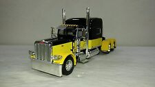"dcp black/yellow peterbilt 389 70""with 270""wheel base new no box"