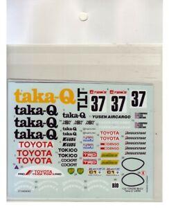 "SDF2471 Studio27 1:24 Toyota 89C-V ""taka-Q"" LM'89 Spare Decal"