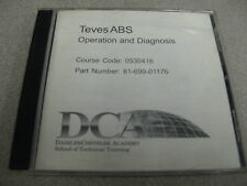 Teves Antilock Brake System Course 0540616 Operation and Diagnosis