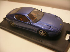 voiture miniature 1/43 eme BANG FERRARI 456 GT Bleu Metal