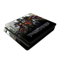 Skin Decal Cover Sticker for Sony PS4 Slim - Transformers Optimus Prime Autobots
