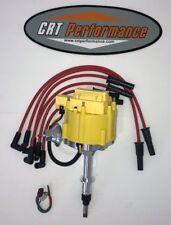 Jeep AMC GM HEI Distributor YELLOW + Plug Wires RED CJ5 CJ7 YJ ETC 258 4.2L