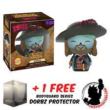 FUNKO DORBZ PIRATES OF THE CARIBBEAN BARBOSSA CHASE PIECE + FREE DORBZ PROTECTOR