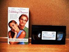 THE WEDDING PLANNER (VHS 2001) Jennifer Lopez, Matthew McConaughey, Judy Greer