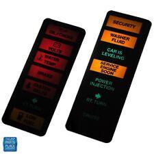 1984-1987 Regal Gn Gnx Original Dash Filter Lenses Left & Right Insert Lenses Pr