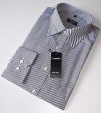 Hemd, Eterna, Gr. 43, pflegeleichte Baumwolle, Comfort Fit, leicht tailliert
