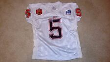 AL CLARK #5 GAME WORN 1998 GATOR BOWL VIRGINIA TECH HOKIES JERSEY
