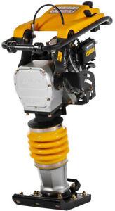 Lumag Vibrationsstampfer VS 80S Stampfer mit Transporträder Verdichter Rüttler