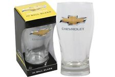 CHEV LOGO HI BALL BOXED GLASS - LICENSED PRODUCT