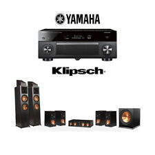Klipsch RP-8000F 7.1.2 Dolby Atmos Home Theater System with Yamaha RX-A2080