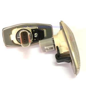 One Pair Side Fender Lamp signal Light for 2001-2006 Hyundai Coupe Tiburon
