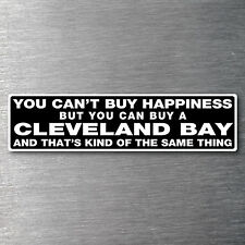 Buy a Cleveland Bay sticker Premium quality 7 yr water/fade proof vinyl pony
