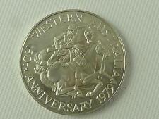 (REFCV 5) Swan River Colony Australia Silver Coin