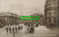 R022372 The Bank of England and Royal Exchange. London. RP. 1924