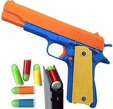 Toy Gun Classic Colt Pistol M1911 Kids Dart Guns Soft Bullet Outdoor us seller