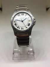 Cartier Watch Santos Ronde Swiss Made Stainless Steel 1920-1 Free Shipping