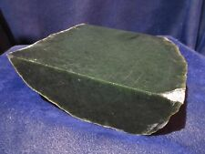 NEW WYOMING NEPHRITE / JADE ROUGH, 10.83 LBS. RARE, VINTAGE COLLECTION STOCK.