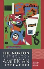 The Norton Anthology of American Literature  Shorter Eighth Edition 2013