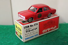 """Diapet No: 226 """"Nissan New Bluebird"""" - Red (Boxed)"""
