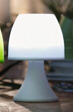 """2er SET LED LAMPE """"White"""" in weiß CAMPING OUTDOOR GARTEN TISCH LAMPE LEUCHTE"""