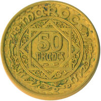 COIN / FRENCH MOROCCO / 50 FRANC 1951      #WT6395