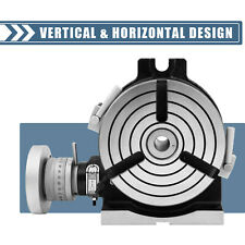 Rotary Table 6 In Hv6 3 Slot Precision Durable Horizontal With Honeycomb Pane