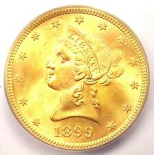1899 Liberty Gold Eagle ($10 Coin) - ICG MS65+ Plus Grade - $2,810 Value!