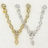 Women Fashion Crystal Rhinestone Head Jewelry Headband Chain Headpiece Hair Band