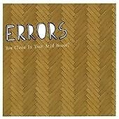 Errors - How Clean Is Your Acid House? (2007) CD NEW AND SEALED