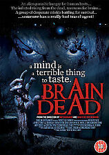 Brain Dead DVD Joshua Benton Sarah Grant Brendecke Original UK Rel New Sealed R2