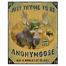Trying to be Anonymoose Moose T Shirt  You Choose Style, Size, Color 10502
