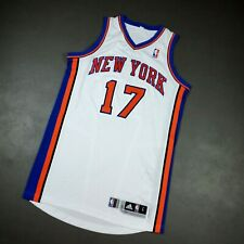 """100% Authentic Jeremy Lin 2011 Ny Knicks Game Issued Jersey Size L+2"""" Mens"""