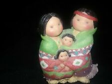 Vintage 1994 Enesco People Of One Feather Fiqurine By Karen Hahn 115738