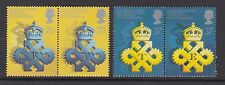 GB GREAT BRITAIN 1990 QUEEN'S AWARDS SET NEVER HINGED MINT