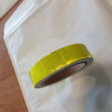 NEW HIGH INTENSITY REFLECTIVE TAPE LIME GREEN 25mm x 10m